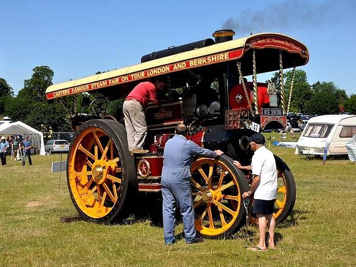 Road Locomotive KE2838