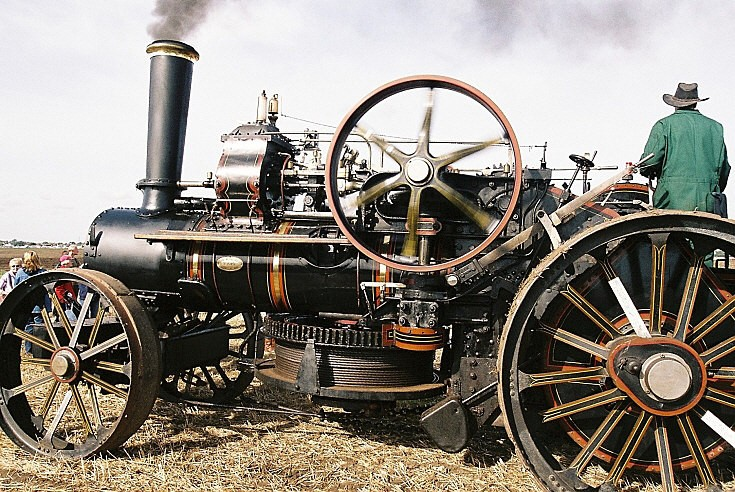 1925 Fowler Ploughing Engine SD9378