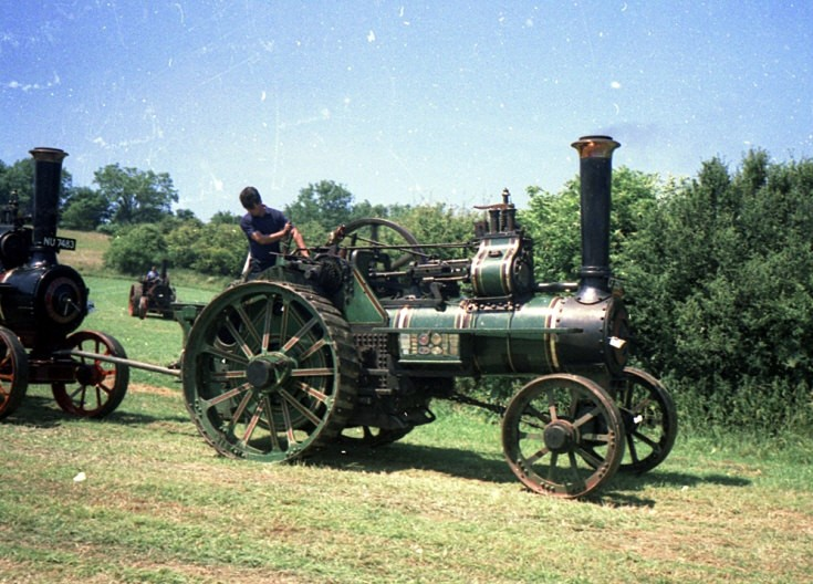Steam powered towing