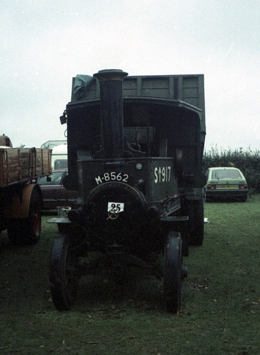 Foden Steam wagon M-8562