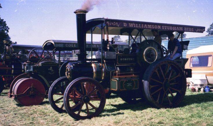 Garrett tractor