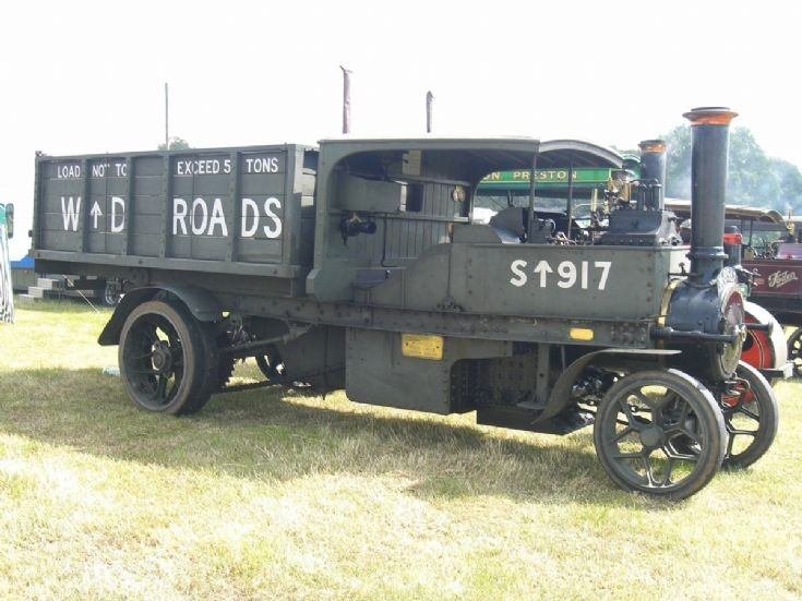Foden Steam Lorry at Cheshire Steam Rally