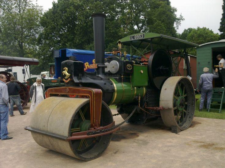 Steam roller 'Sarah'