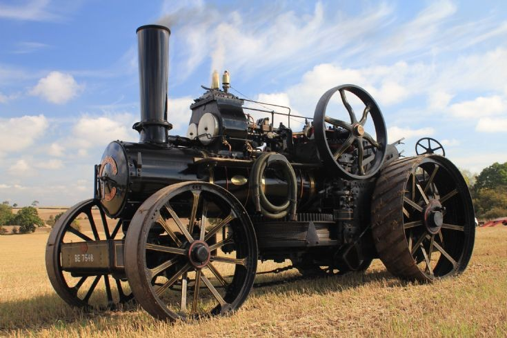 Fowler Type BB Ploughing Engine.