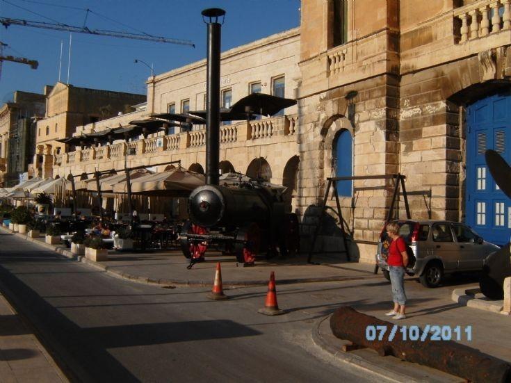 locomobile Maritime museum,Birgu,Malta