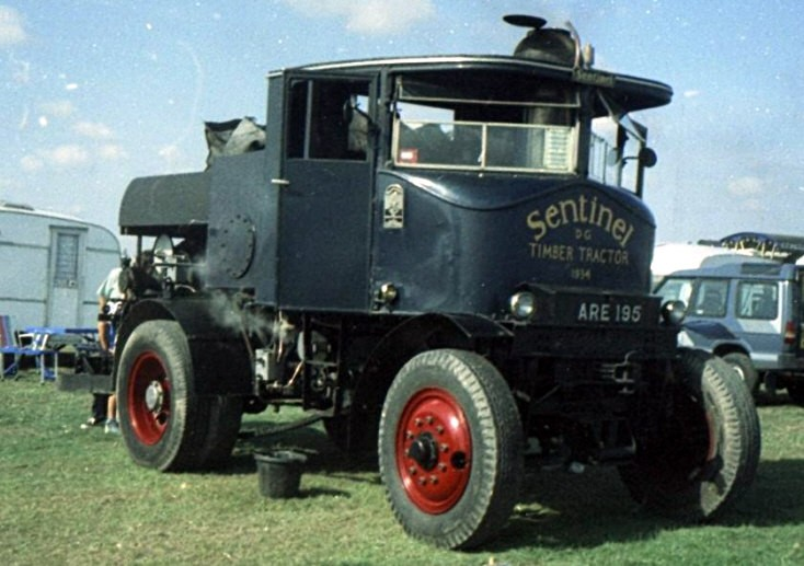 Sentinel Timber Tractor ARE195