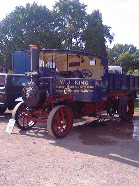 Foden at the Wolverhampton Town Show