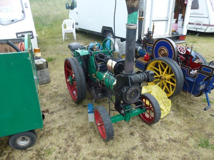 Burrell scale Traction Engine