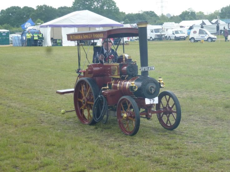 Tasker Traction Engine