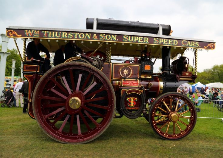 Burrell at Fawley Hill Steam Rally