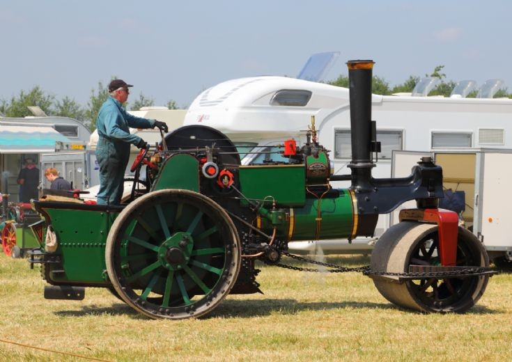 Aveling & Porter at Woodcote Steam Rally