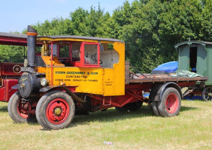 Foden Truck at Woodcote Steam Rally