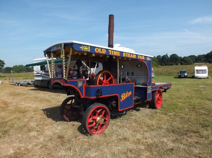 Old Time Steam Fair Engine