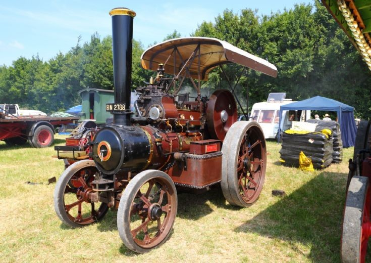 Fowler at Woodcote Steam Rally