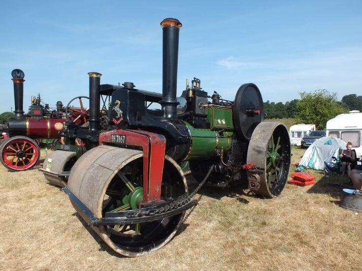 BH 7167 Aveling & Porter Roller