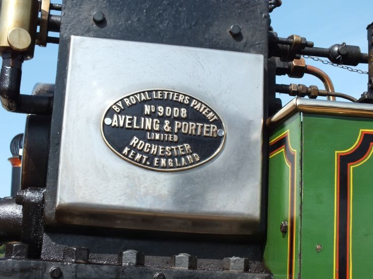 BH 7167 works plate