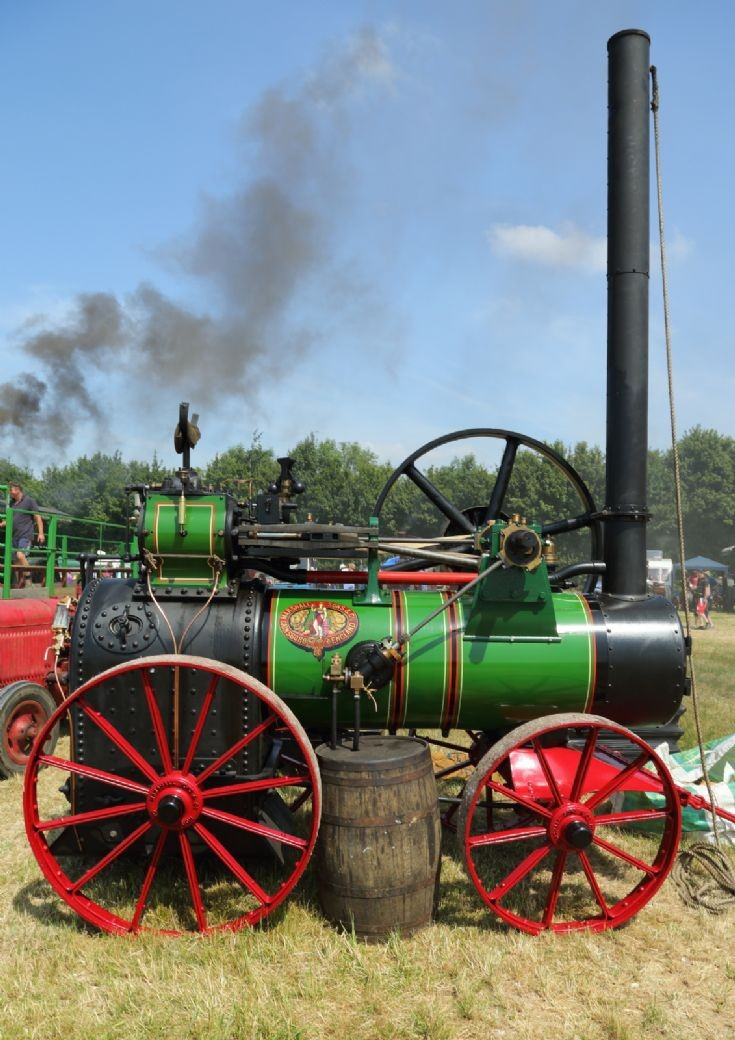 Marshall at Woodcote Steam Rally