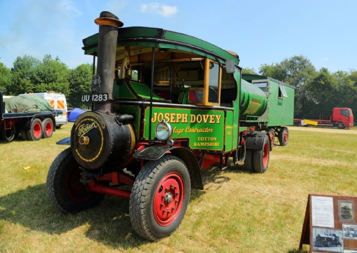 Foden, Sir Lionel, at Woodcote Steam Rally