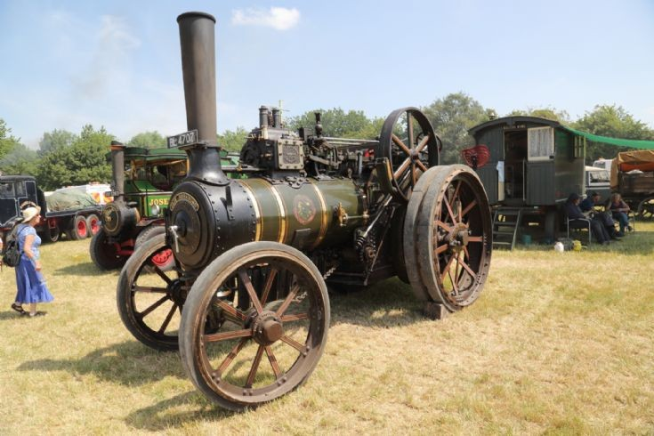 Fair Rosamund at Woodcote Steam Rally