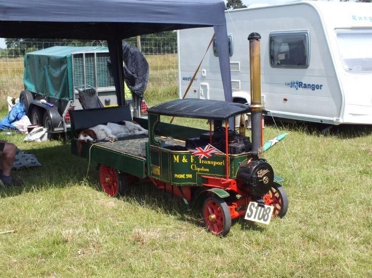 Miniature Foden Steam Lorry