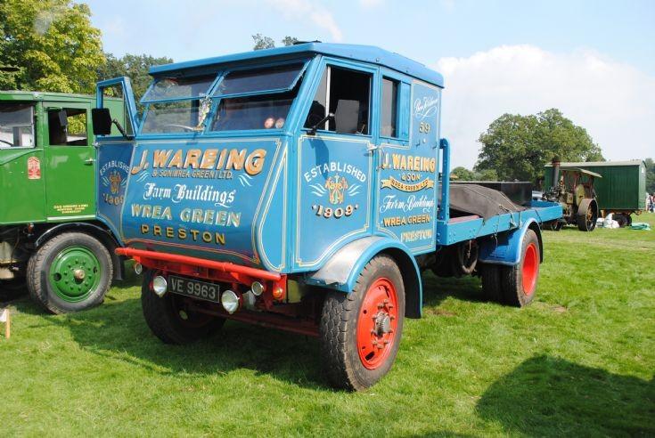 1934 Sentinel S4 Steam Waggon