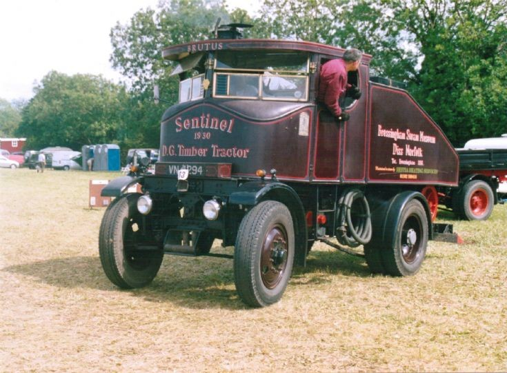 1930 Sentinel DG Timber Tractor (VN 4294)