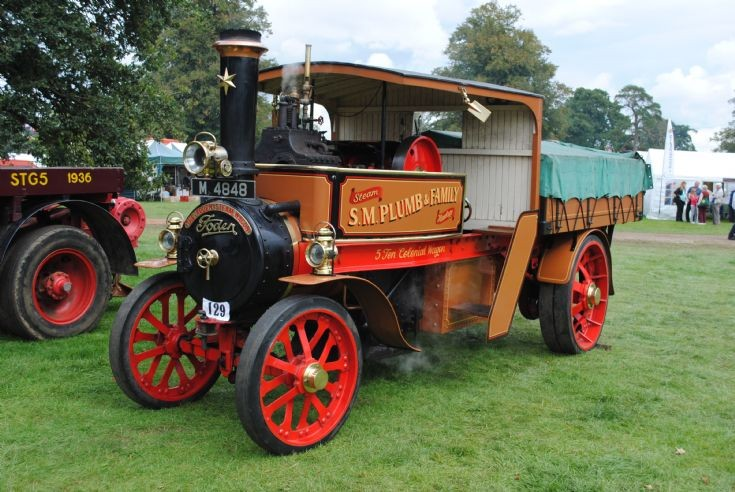 1913 Foden Colonial Steam Waggon