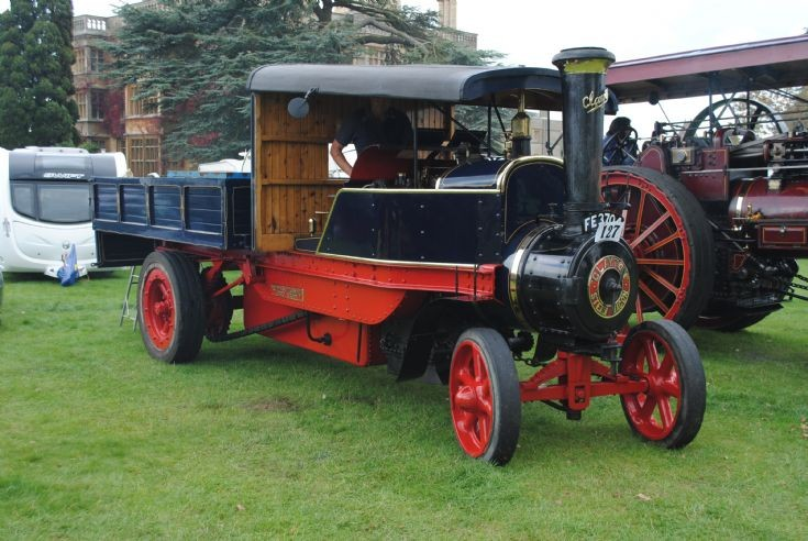 1920 Clayton & Shuttleworth End Tipper