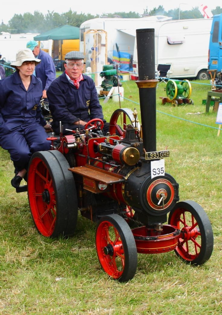 Allchin model at Woodcote Steam Rally