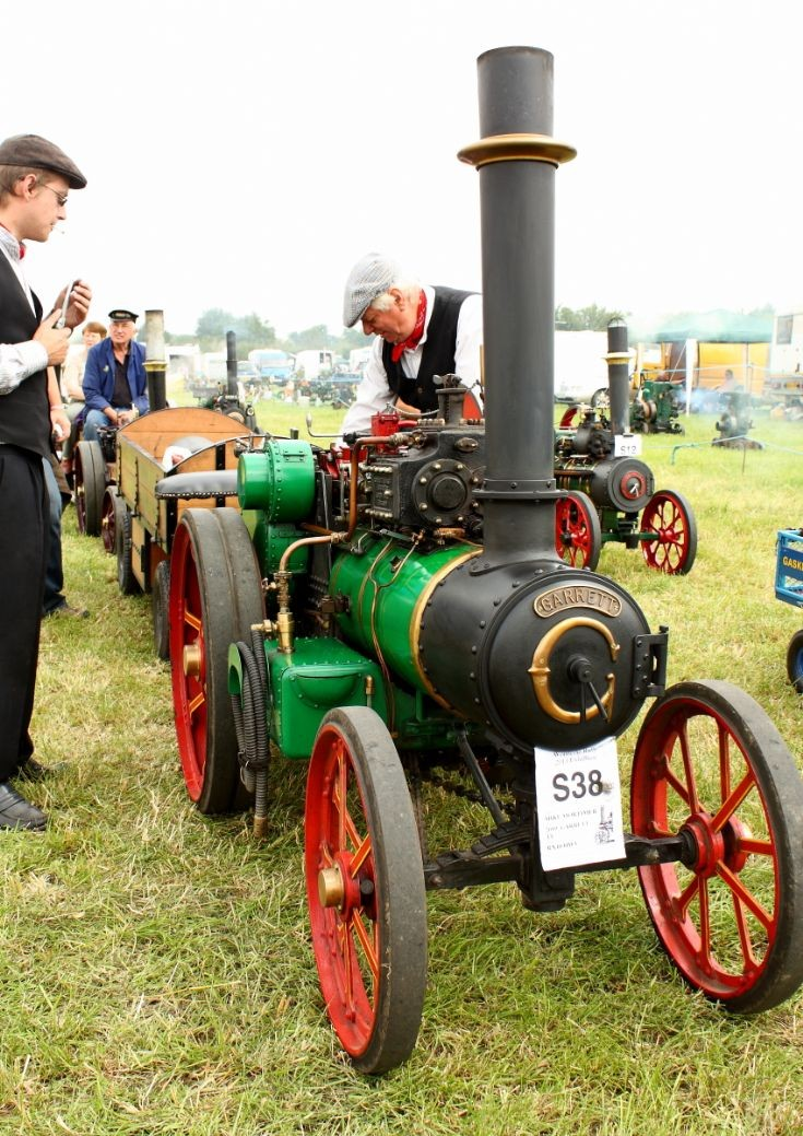 Garrett model at Woodcote Steam Rally