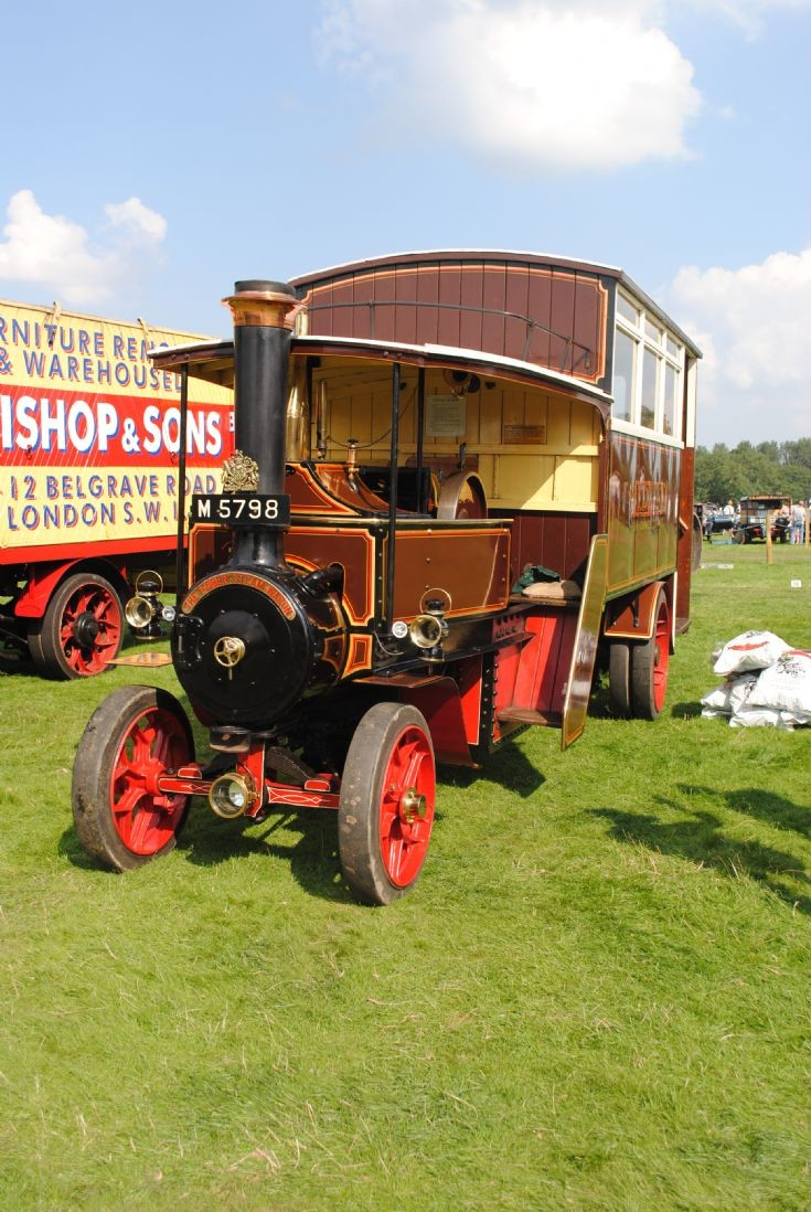 1914 Foden Steam Bus - Irene