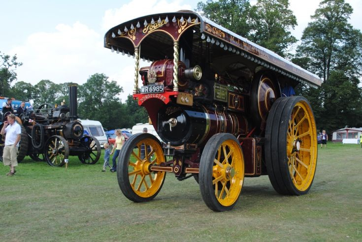 1910 Foden Showmans Road Locomotive