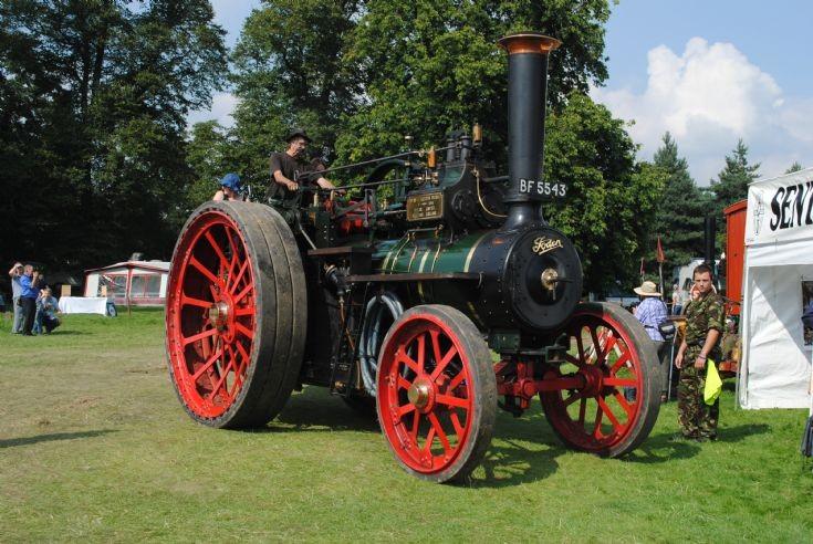 1907 Foden Colonial Locomotive