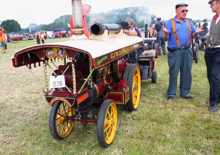 Lady Irene at Woodcote Steam Rally