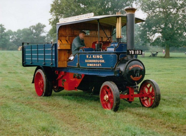 1924 Tasker 5 Ton Steam Waggon (YB 183)