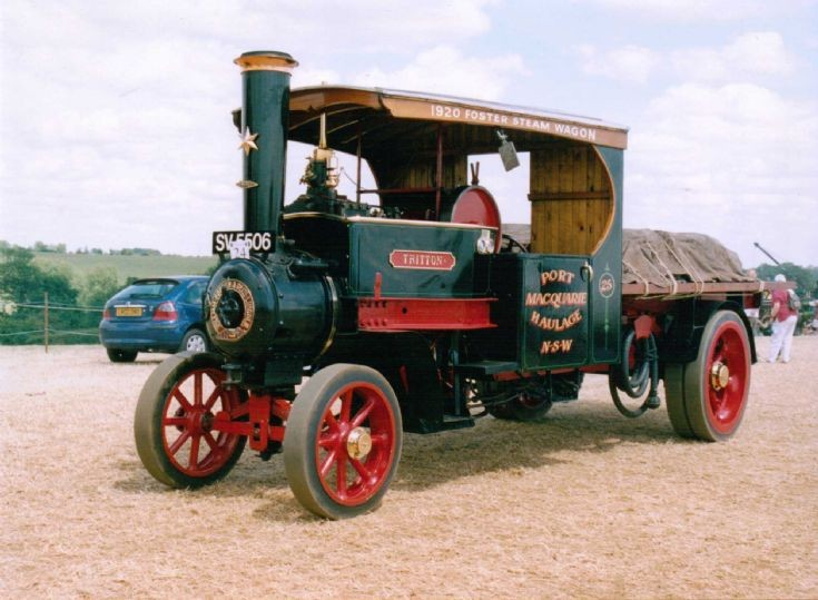 1920 Foster 5 Ton Steam Waggon