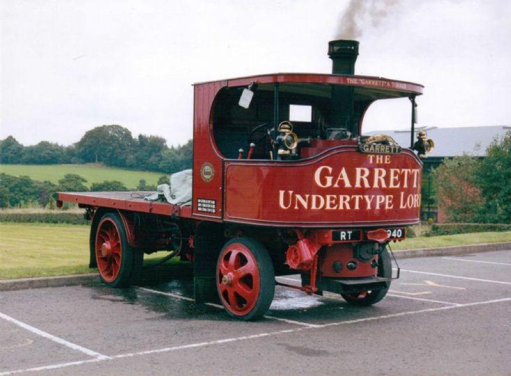 1926 Garrett Undertype Steam Waggon
