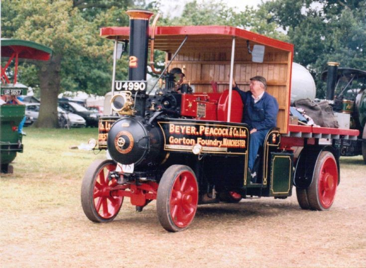 1919 Mann Steam Waggon (U 4490)