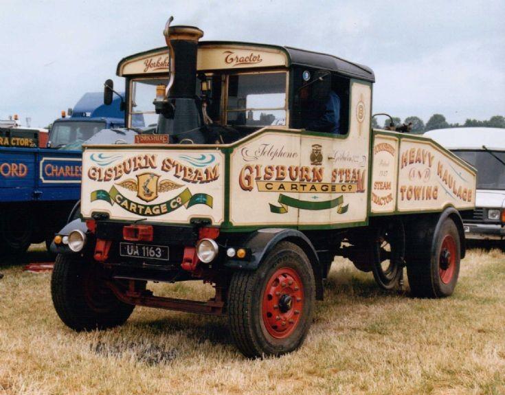 1926 Yorkshire Steam Tractor
