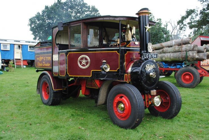 1925 Foden C Type Estate Tractor (LG 8784)