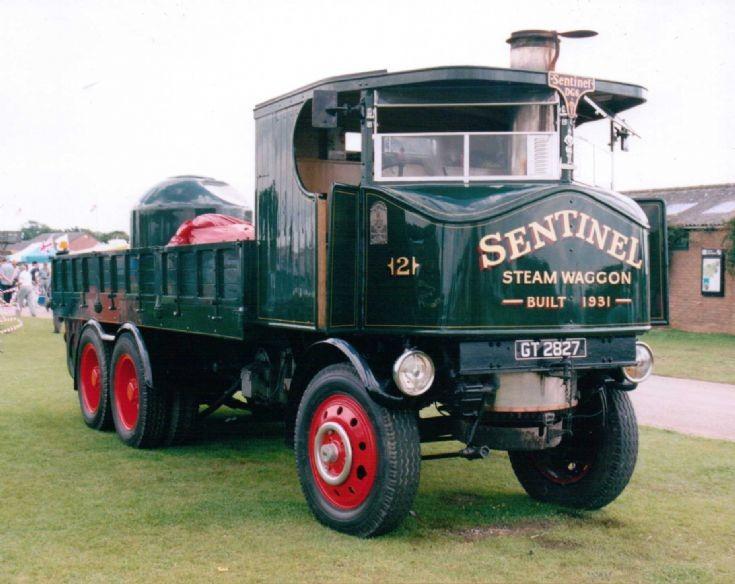 1931 Sentinel DG6 Dropside (GT 2827)