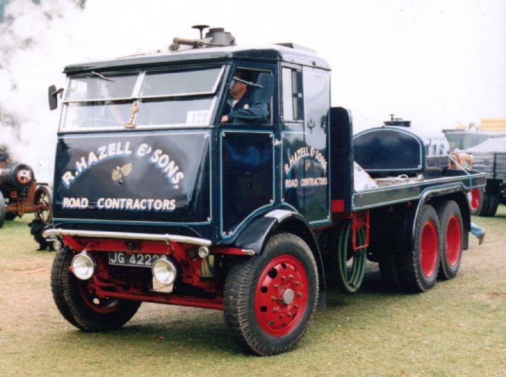 1934 Sentinel S6 Steam Waggon (JG 4222)