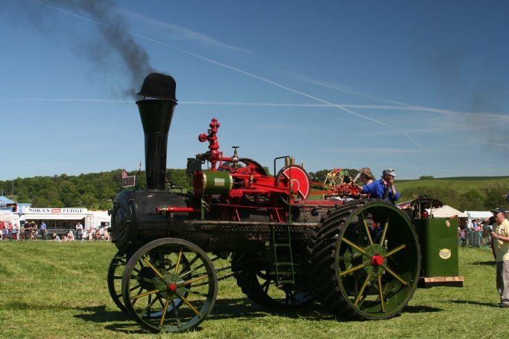 1916 White 25/75 Traction Engine